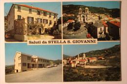 SALUTI DA STELLA S. GIOVANNI (SV) - VEDUTINE - F/G - V: 1982 - Savona