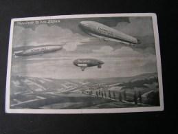 == Zeppekin Luftflotten Verein 1916  Aus Darmstadt - Dirigeables