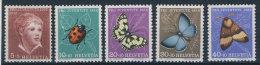 Schweiz Michel No. 575 - 579 ** postfrisch