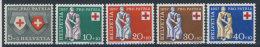 Schweiz Nr. 641 - 645 ** postfrisch
