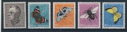 Schweiz Nr. 550 - 554 ** postfrisch