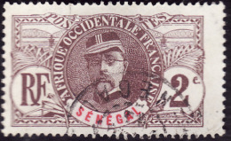 SENEGAL  1906 -  Y&T  31   - Faidherbe - Oblitéré   -  Cote 1.30e - Sénégal (1887-1944)