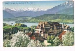 24236 ( 2 Scans ) Luzern Kurhaus Sonn Matt Und Die Berneralpen - LU Lucerne