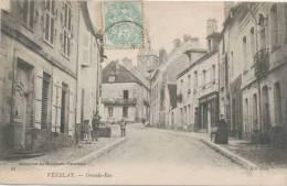 Cp , 89 , VÉZELAY , Grande-Rue , Voyagée - Vezelay