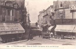 VILLERS SUR MER -  Rue Du Casino à La Hauteur De La Rue De La Mer - Villers Sur Mer