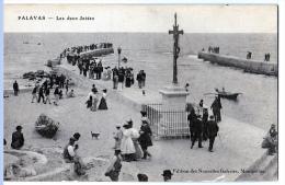Palavas-les-Flots (Hérault) Les Deux Jetées. - Palavas Les Flots