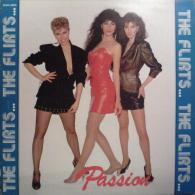 "* 12"" Maxi *  THE FLIRTS - PASSION (Remix) (Belgium 1982) - 45 Toeren - Maxi-Single"