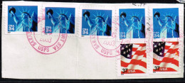 USA 2001/2002 , Michel# O Auf Papier - Used Stamps