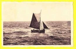* Sint Idesbald (De Panne - Koksijde - Kust - Littoral) * (Nels, Série Plage, Nr 10) Départ Vers L'infini, Bateau, Boat - De Panne