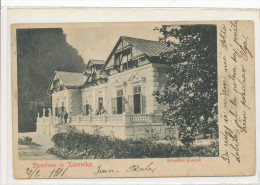 SLOVENIA, KAMNIK KOPALIŠČE, EX Cond. Real Photo Undivided Back PC, Mailed 1901 - Slowenien