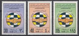 Libye Mi.nr:669-671 Konferenz über Technische.... 1978 Neuf Sans Charniére / MNH / Postfris - Libië