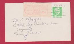 USA  //  Entier Postal  //  De Birmingham  //  Pour Paris  //  9 Novembre 1970