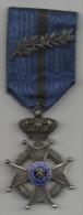 M�daille Chevalier de l'Ordre de L�opold II. Militaria Belgique. Guerre 1914-1918