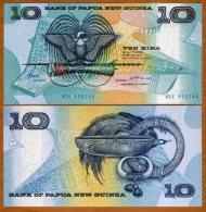 Papua & New Guinea 10 Kina 1988 Pick 9c UNC - Papua New Guinea