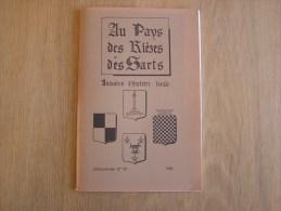 AU PAYS DES RIEZES & DES SARTS N° 107 Histoire Régionalisme Le Brûly Couvin Rocroi B Fieullien Charleville Regniowez