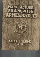 ST ETIENNE    MANUFACTURE FRANCAISE D ARMES ET CYCLES 1932   792 PAGES  DANS SON JUS  Livraison Gratuit Promo - Sport