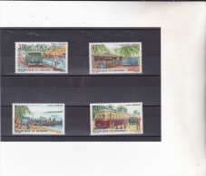 DAHOMEY  :poste Automobile Rurale :Y&T :* * : 85 à 88 PA - Bénin – Dahomey (1960-...)