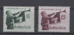 Deutsches Reich Michel No. 584 - 585 ** postfrisch