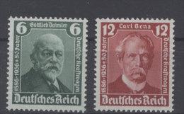 Deutsches Reich Michel No. 604 - 605 ** postfrisch