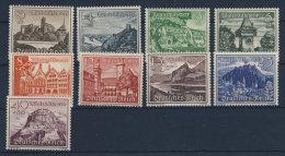 Deutsches Reich Michel No. 730 - 738 ** postfrisch