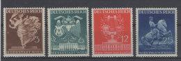 Deutsches Reich Michel No. 768 - 771 ** postfrisch