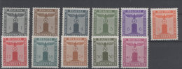 Deutsches Reich Dienst Michel No. 155 - 165 ** postfrisch