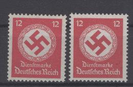 Deutsches Reich Dienst Michel No. 138 b , 172 b ** postfrisch