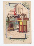 CHINE  - PETIT METIER - RESTAURATEUR AMBULANT - ILLUSTRATEUR - COLLECTION BAINS-LES-BAINS -  PUBLICITE SALVY - China