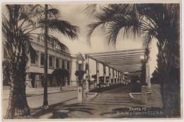 Carte Photo ,ARGENTINE,républica Argentina,santa Fe ,1929,de La Vera Cruz,rosedal Y Estacion F.C.C.N.A,rare - Argentina