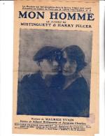 MISTINGUETT - PARTITION  MUSICALE - MON HOMME - PRESENTEE AU CASINO DE PARIS PAR LEON VOLTERA - Spartiti