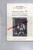 87 - BUJALEUF - SOUVENIRS D' UNE VIE   HENRI BOUNY - EDITIONS LA VEYTIZOU- 1987-GUINGOUIN - Limousin