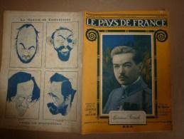 1918 LPDF: Camoufler US;Aviation-battle;Armée Belge;VINDICTIVE;Phoque BON;Procès BONNET ROUGE;Poelkappelle;Passchendale - Revues & Journaux