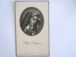 Doodsprentje Image Mortuaire Hortensia Claes Wambeek 1861 1940 RVNed 504 - Devotion Images