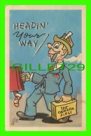 COMICS - HUMOUR - HEADIN YOUR WAY - SEE CANADA FIRST - PECO - WILF LONG - - Bandes Dessinées