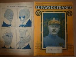 1918 LPDF:Espagne;Armement Allemand;Belges Vainqueurs;Canon CAROLINE,GROSSE BERTHA;Arméniens,Géorgiens;Attelage 6 Boeufs - Revues & Journaux