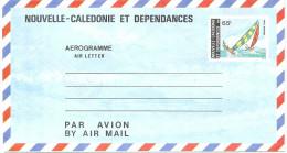 CIRC4 - N.LLE CALEDONIE AEROGRAMME 65F NEUF COTE 20.00 EUR - Luftpost