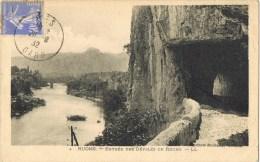 10409. Postal  ARES (Gard) 1932. Entréeles Defilés De Ruoms