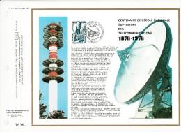 FDC - CEF - 1978 - Centenaire De L'école Nationale Supérieure Des Télécommunications - FDC