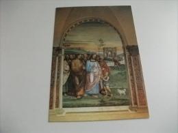 pienza sant'anna in camprena la moltiplicazione dei pani sodoma  siena