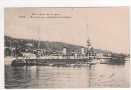 Collection Artistique 3200 - Le Suffren , Cuirassé D´escadre , écrite Et Timbrée Le 13/05/1905 - Warships