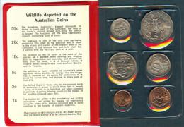 Münzen Australien 1975 Wildlife - Sets Sin Usar &  Sets De Prueba