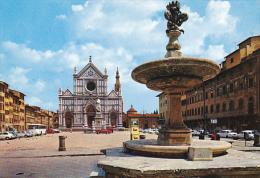 Italy Firenze Piazza e Chiesa di Santa Croce