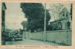 MASSUGAS - L'Église Et Le Bourg (automobiles) - France