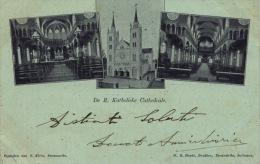 081-1903 Suriname Paramaribo De R. Katholieke Cathedrale Viaggiata Travelled - Suriname