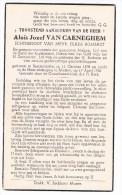 Bid Voor De Ziel, Aloïs Jozef VAN CAENEGHEM (C. Rombaut), Semmerzake 1878 / Melsen 1956 - Images Religieuses