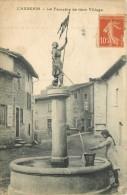 69 -  L'AUBEPIN - LA FONTAINE DE MON VILLAGE -  JEANNE D'ARC - Francia