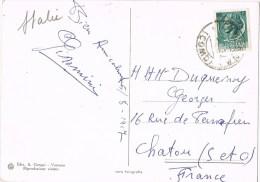 10432. Postal VARENNA (lago Di Como) Italia 1957 - 6. 1946-.. Repubblica
