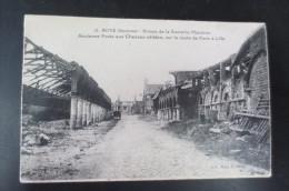 Roye   Ruine De La Sucrerie Mandron - Roye