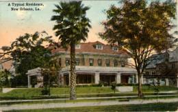 A Typical Residence - New Orleans (Voir Cachet Au Verso: Occupation De La Lorraine) - Etats-Unis