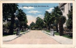 Entrance To Rosa Park - New Orlean - Etats-Unis